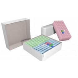 Systembox aus Karton für 2 Styro Racks