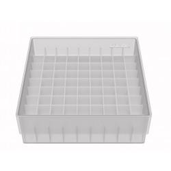Kryoboxen aus PP, 9x9 Fächer 12,5 mm