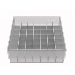 Kryoboxen aus PP 7x7 Fächer 16,5 mm